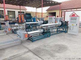 废旧滴灌带再生造粒机,环保型滴灌带造粒机设备