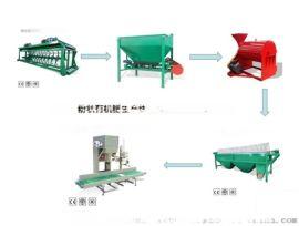 鸡粪加工有机肥设备—对辊造粒机厂家直销—溧水