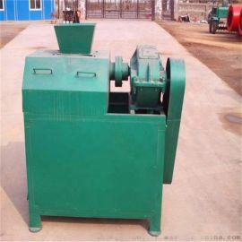 安国-双轴对辊挤压造粒机-牛粪有机肥生产线