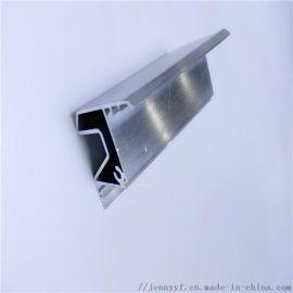 厂家直销建筑6063 轨道铝型材