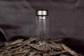 开封加汇双层玻璃杯印字广告杯礼品杯印LOGO商务水晶口杯