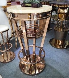 定制不锈钢茶几 全手工精制 不锈钢异形家具