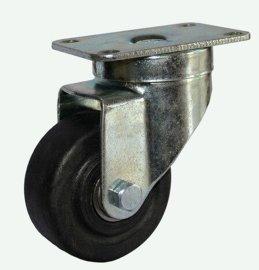 脚轮   中山兄弟脚轮厂  供应各规格平底刹车耐高温尼龙脚轮
