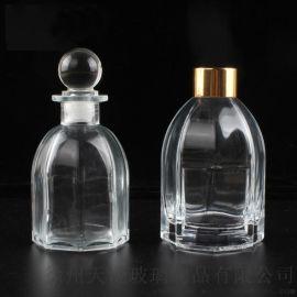 廠家直銷八角香薰瓶香水瓶精油瓶 香料玻璃瓶