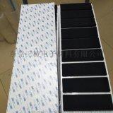 防滑EVA脚垫 黑色硅胶垫圈 圆形自粘耐高温硅胶垫