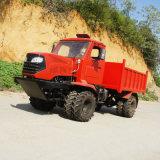 熱帶雨林四驅鉸接式轉向拖拉機