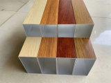 七臺河四方鋁通 180x75鋁方管 砂面木紋鋁通