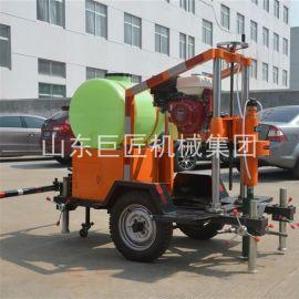 HZQ-20T拖挂式混凝土钻孔取芯机 路面取芯机