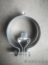 厂家直销1.2厚 铁质灯笼抱卡  万向合页吊卡