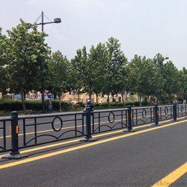 钢质道路护栏,市政围栏,城市文化隔离栏