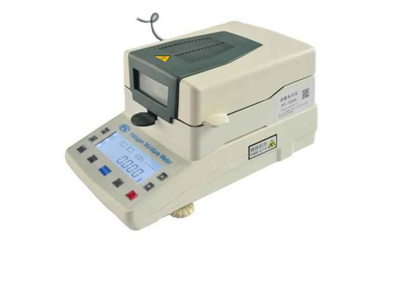 化工原料水份仪XY105W 氧化铝粉卤素水分仪