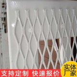 建築外牆金屬鋼板網 上海幕牆裝飾鋁板拉伸網 吊頂菱形孔鋼板網