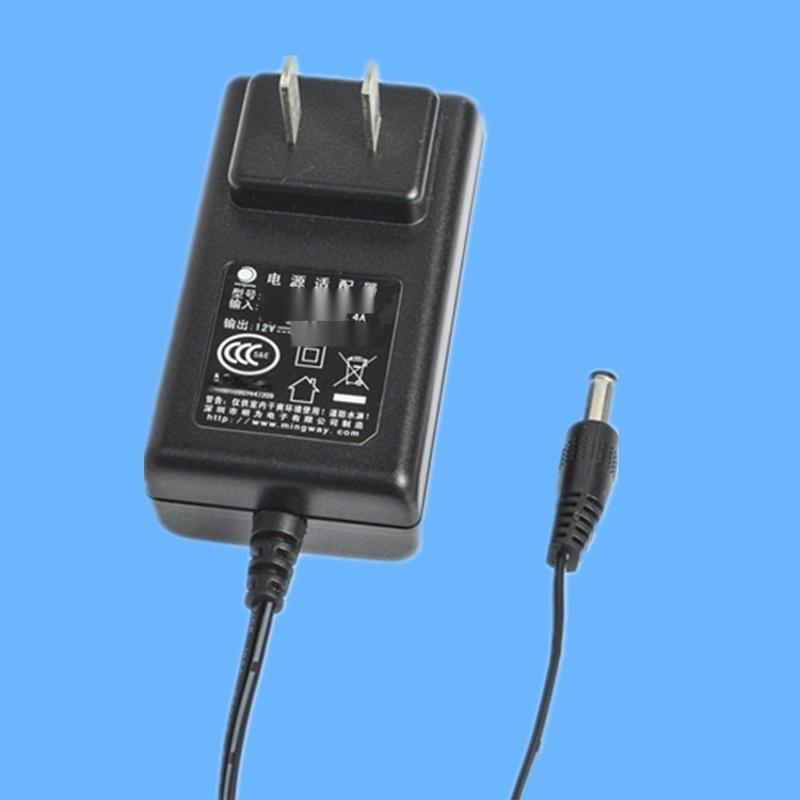12V插墙式3C认证开关电源 12W摄像机  电源