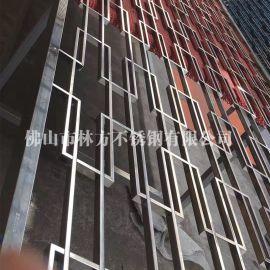 汕頭酒店工程 定做不鏽鋼屏風 中式不鏽鋼花格