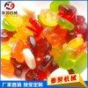 厂家直销全自动凝胶软糖生产线 多功能全自动糖果机械北京赛车 糖果机