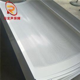 廣州防水圓孔內填巖棉板屏障/彩鋼板隔音屏障板