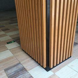 50*80铝方管包柱子装饰  立体造型包柱铝方通墙面装饰