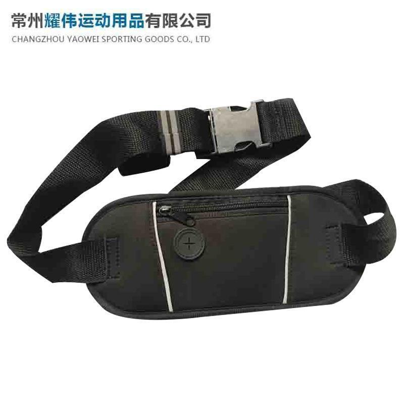 熱銷款運動腰包 戶外多功能跑步腰包 潛水料戶外運動腰包定製批發