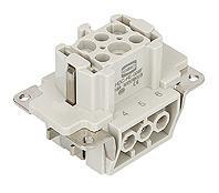 6针母芯插座/HE-006-F/航空插座