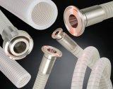透明钢丝硅胶管 牛奶硅胶钢丝管
