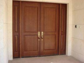 上海典藏实木订制门实木进户门 老木门
