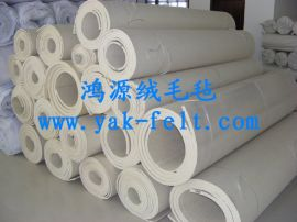 工业羊毛毡 加厚工业羊毛毡