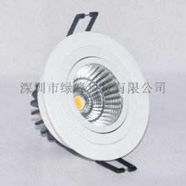 LED筒灯,cob筒灯,嵌入式商业照明筒灯,led橱窗灯,家居照明,背景墙射灯,led射灯