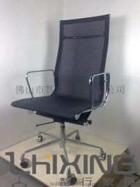 **不锈钢高背网布办公椅 Eames Office Chair 经典办公家具