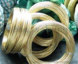半硬黄铜线国标H65镀锡黄铜线螺丝黄铜线