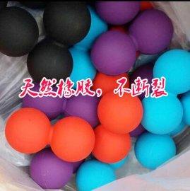 橡胶花生按摩球,筋膜球,健身按摩球,双长曲棍球 Fascia ball