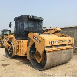 贵州二手徐工14吨双钢轮压路机三一13吨钢轮压路机