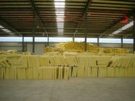 【厂家直销】 75mm厚钢结构用保温棉 玻璃棉 离心玻璃棉毡