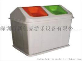 重庆240L绿色塑料垃圾桶,厂家专业专业直供
