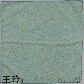 厂家直销 2016年**款 百变魔术 活性环保印花 全棉头巾 方巾