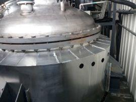供应山东-菏泽化学反应釜环保加热器 不锈钢化工设备节能电磁加热器