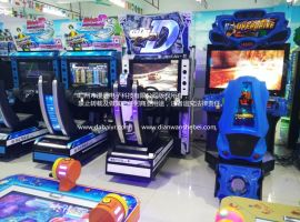 河北2016年新款赛车游戏机 头文字D8模拟赛车游戏机电玩游戏机