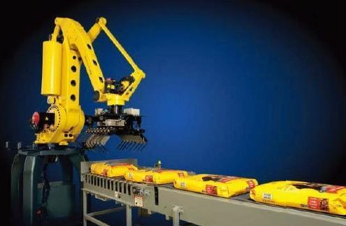 9651饲料化肥搬运码垛机器人