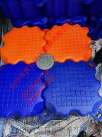 廠家直銷塑料水上浮動平臺,抗紫外線多功能水上舞臺、漂浮碼頭