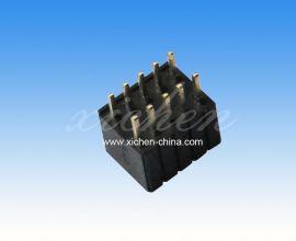 1.27直插排母    机顶盒专用排针排母 双排180度 塑高