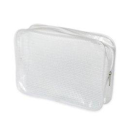 PVC夹网袋 欧美时尚化妆包