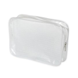 PVC夹网袋 欧美时尚化妝包