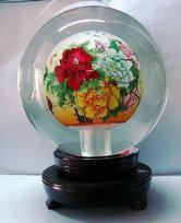 内画水晶球