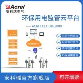 安科瑞Acrelcloud-1000智慧环保监管平台医药制药产污设施监控