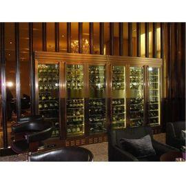 佛山夢奇源 專業定制紅酒櫃展示櫃 多款式高端不鏽鋼酒櫃