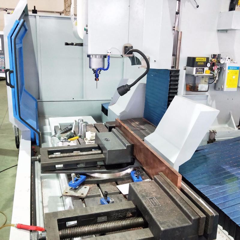 轨道交通型材工业铝型材三轴数控加工中心支持定制