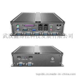 全鋁無風扇防塵零噪音BOXPC耐高溫微型小主機低功耗工控機廠家直銷