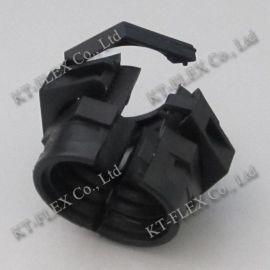 双开口波纹管接头/尼龙6塑料软管接头/尼龙三通接头/品质保证/厂家直销