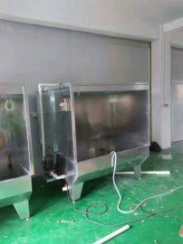 长期生产 喷油水濂柜 喷漆水帘柜 水濂柜定制 **喷油柜机厂家
