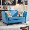 美式乡村布艺铆钉沙发 客厅小户型家具咖啡厅休闲沙发 sofa