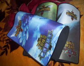 纯天然橡胶游戏人物锁边加厚鼠标垫 英雄联盟鼠标垫 桌垫定制